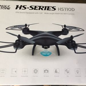 Holy Stone HS110D FPV RC Drone with Camera and Video 1080P 120° Wide-Angle WiFi for Sale in Houston, TX