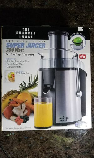 Sharper Image Super Juicer for Sale in Federal Way, WA