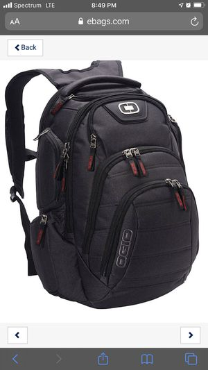 "circle OGIO Renegade 17"" Gaming Laptop/Tablet Backpack Black Model 111059.03 for Sale in Garden Grove, CA"