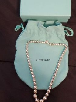 Tiffany & CO. Graduated Ball Necklace for Sale in Wheaton,  IL