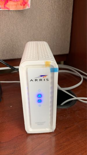 Arris cable modem - less than 1 yr for Sale in Streamwood, IL