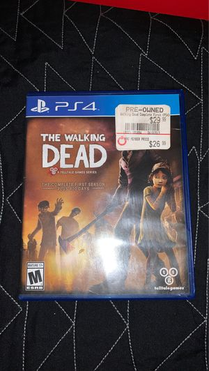 The Walking Dead PS4 game for Sale in Fresno, CA