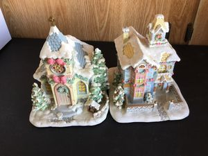 Precious moments house set of two for Sale in Sun City, AZ