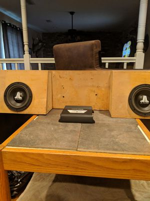Two 8 subwoofers alpine amo for Sale in Milton, FL