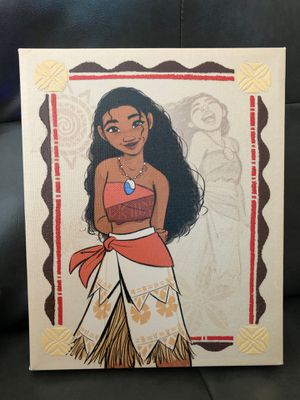 Small Moana canvas picture for Sale in Pembroke Pines, FL