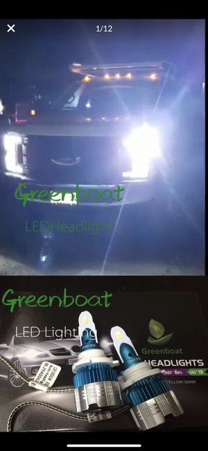 Super Bright White LED headlight Solutions H1 H4 H7 H8H9 H10 H11 H13 Full sizes Available for Sale in San Dimas, CA