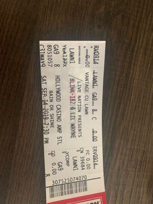 Lil Wayne tickets for Sale in Florissant, US