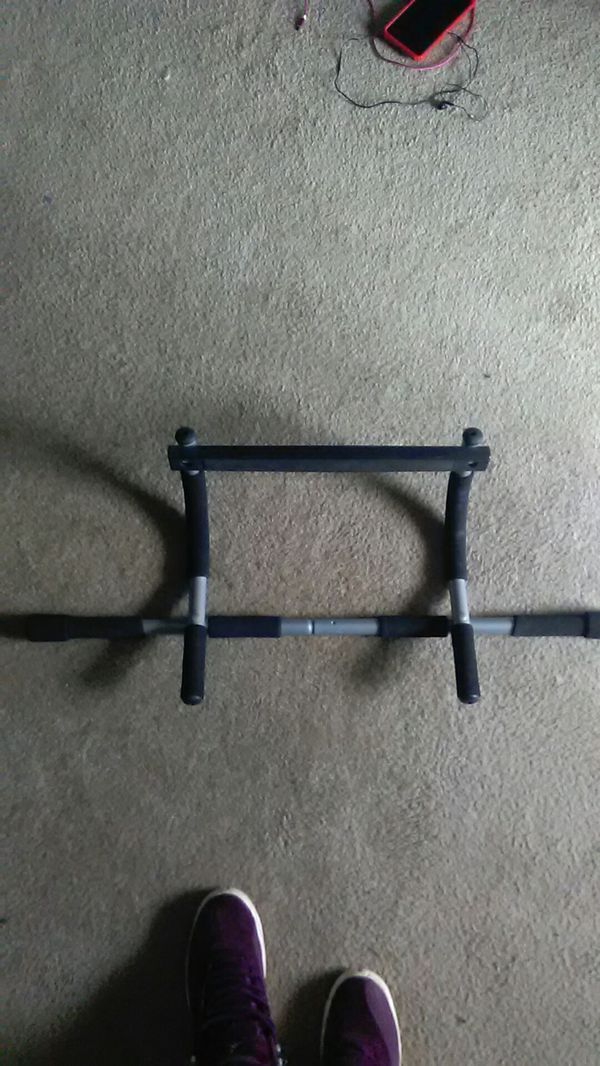Steel pull-up bar