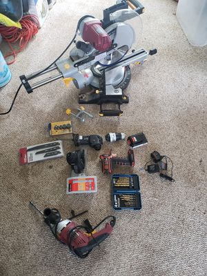 Power tools and accessories (all working) for Sale in Marysville, WA