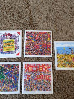 Where's Waldo Coasters for Sale in Vancouver,  WA