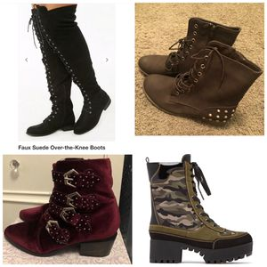 WOMENS BOOTS for Sale in Los Angeles, CA