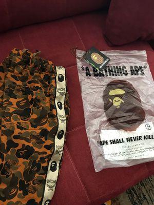 Bape mcm shorts for Sale in Laveen Village, AZ