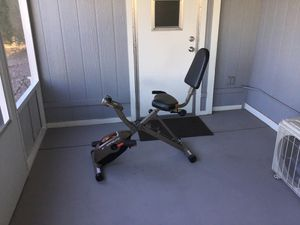 Like new Exerpeutic foldable exercise bike for Sale in Fort McDowell, AZ