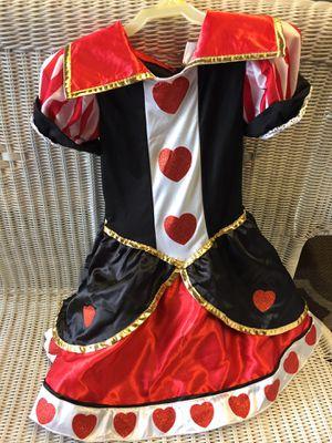 Children's Halloween costume- Disney Queen of hearts. Size 8/10 for Sale in Pembroke Pines, FL