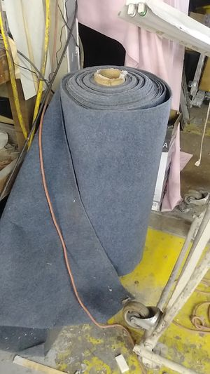 3 foot wide outdoor carpet. Boat carpet. Etc highest quality very dense roll 125 feet long for Sale in Dallas, TX