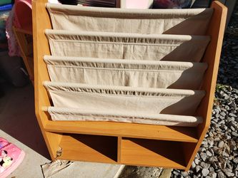 Fantic/ Wood Book Case for Sale in Grafton,  WV