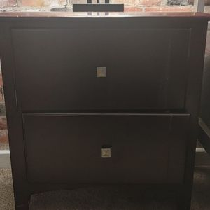 wood nightstand for Sale in Raleigh, NC