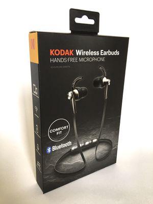 Kodak wireless silver grey headphones Brand new Bluetooth for Sale in Los Angeles, CA
