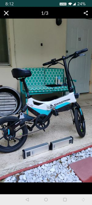 Folding electric bike,cruise control 350 watts for Sale in Fort Lauderdale, FL