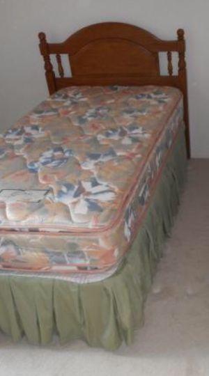 Twin bed, headboard & frame for Sale in Gibsonton, FL