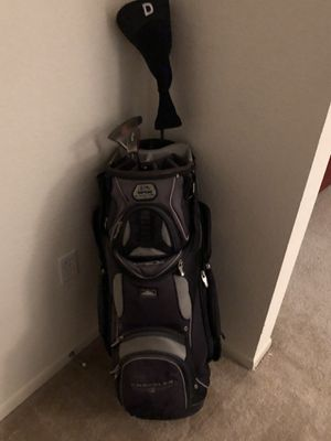 Golf bag with clubs for Sale in Denver, CO