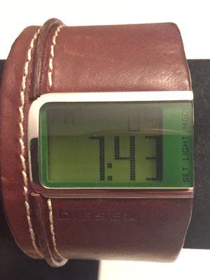 Super Nice Digital Diesel Dz 7034 Watch w/ Leather Strap for Sale in Hillsborough, NC