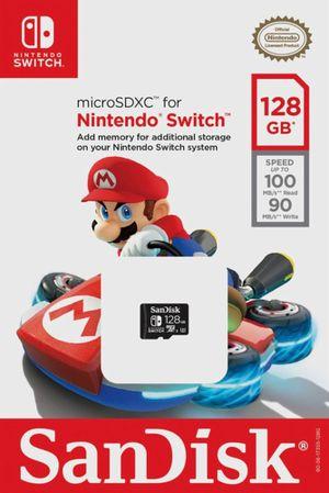 microSDXC for Nintendo Switch 128GB for Sale in Redmond, WA