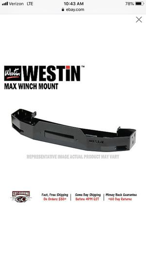 16+ Tacoma front winch Mount for Sale in Sacramento, CA