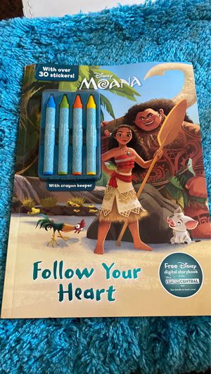 Disney Moana Coloring Book for Sale in Los Angeles, CA