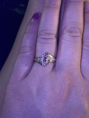 10 k gold women's ring size 7 for Sale in Roanoke, VA