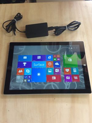 WINDOWS SURFACE PRO 3 (128gb/1.3ghz/4gbRam) for Sale in Miramar, FL