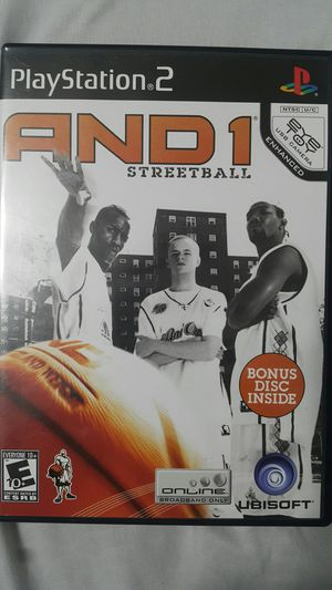AND 1 STREETBALL FOR PS2 for Sale in Miami Gardens, FL