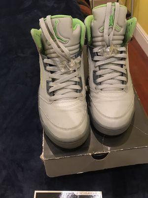 Air Jordan 5 Retro- Green Bean size 9 for Sale in Richmond, CA