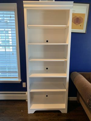 White Bookcase for Sale in Wall Township, NJ