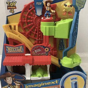 Toy Story 4 Carnival Playset & Figures, Brand NEW! Porch Pickup or Can Ship! for Sale in Roxbury Township, NJ