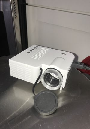 ODOMY Durable Portable HD 1080P 10W Mini Video Projector, LED Home Theater Projector UC28C for Sale in Nolensville, TN