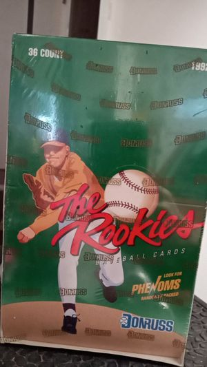 1992 Dunruss the rookies baseball cards - unopened box for Sale in Fall City, WA