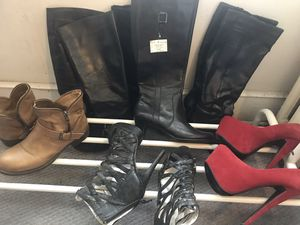 Brand new black boots (and everything else you see in the photo) for Sale in Washington, DC