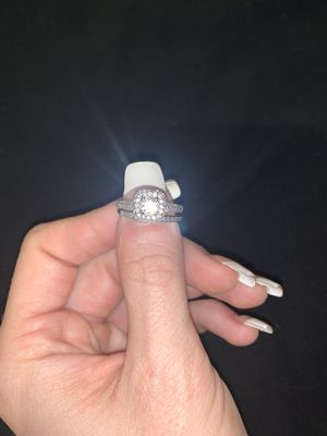 2ct diamond engagement set, 14ct white gold (obo) for Sale in Owings Mills, MD