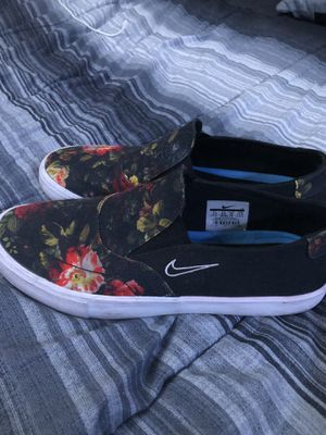Nike/Vans Floral shoes 9.5 for Sale in Winter Haven, FL