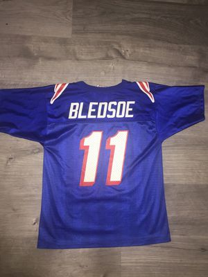 Youth Drew Bledsoe New England Patriots Vintage NFL Jersey for Sale in Fresno, CA