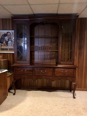 Vintage Drexel Heritage China Cabinet for Sale in Vienna, VA