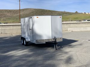 New 7x14 Look Cargo Trailer * 6 inches extra height * for Sale in Redlands, CA