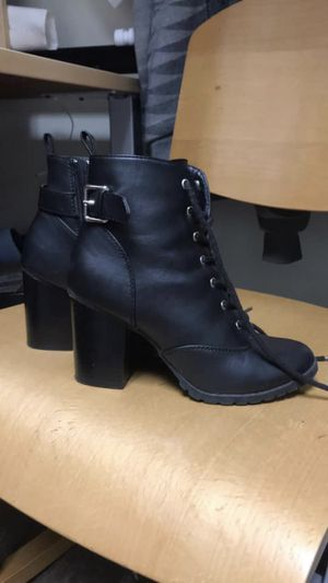 Leather High Heel Boots for Sale in Traverse City, MI