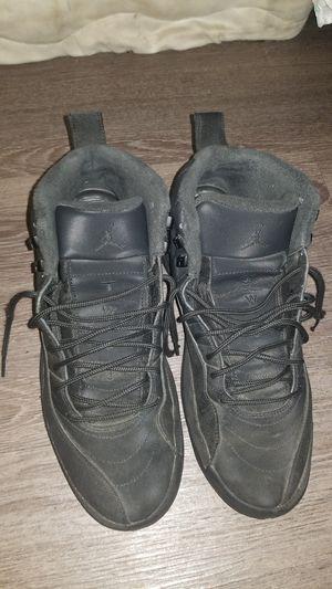 All black Jordan 12's for Sale in Washington, DC