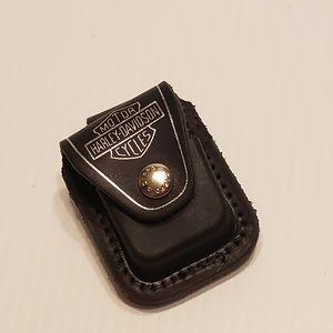 Harley Davidson genuine Leather Zippo Cigarette Lighter Case for Sale in Campbell, CA