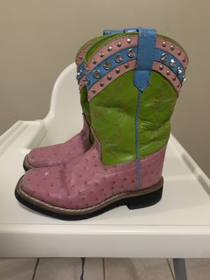 girls Ostrich boots size 10 1/2 for Sale in Thomasville, NC