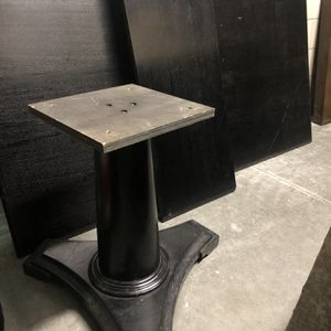 Expresso wood table - Dining Table With Base - Imported for Sale in San Diego, CA