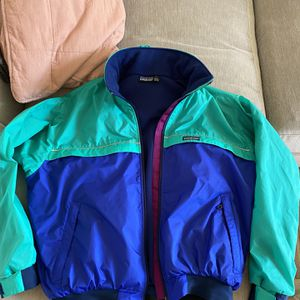 Patagonia Vintage Winter Jacket Green/blue Size L for Sale in Torrance, CA