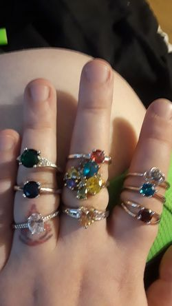 Multiple size 9 rings for Sale in Natick,  MA